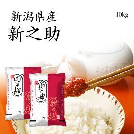 米 10kg 新之助 お米 送料無料 5kg x2袋 新潟県産 しんのすけ 令和元年産