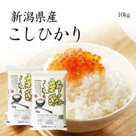 米 10kg コシヒカリ 新潟県産 お米 送料無料 5kg x2袋 こしひかり 令和元年産