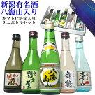 御中元日本酒セット八海山入り新潟日本酒飲み比べセット300ml×5本