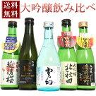 【花】『新潟地酒酒質の違い飲み比べ』大吟醸から普通酒まで揃った300ml×5本ギフト化粧箱入り【送料無料】