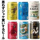 クラフトビール 飲み比べ 詰め合わせ 敬老の日 缶 エチゴビール 350ml×6種類 ギフトセット 送料無料 地ビール 人気 クラフトビール ギ…