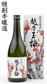 父の日ギフト 【産地直送】玉風味 越乃玉梅 720ml 特別本醸 玉川酒造