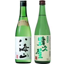 父の日ギフト 八海山 純米大吟醸 720ml と 五代目 幾久屋 720ml 日本酒 飲み比べセット 日本酒 飲み比べ ギフト 贈り