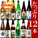 日本酒 飲み比べセット 720ml×12本新潟のお酒が12本もはいった豪華なセット 1本あたり900円の破格にておいしい地酒が飲み比べできます 日本酒4合瓶福袋...