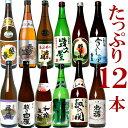 日本酒 飲み比べセット 720ml×12本新潟のお酒が12本もはいった豪華なセット 1本あたり900円の破格にておいしい地酒が…