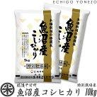 [特別栽培米]新潟県魚沼産コシヒカリ白米10kg
