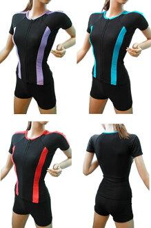 T & B short sleeve separates swimwear * pants select * size L-