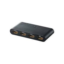 エレコム HDMI切替器 3入力1出力 3台のゲーム本体を簡単切替 ブラック GM-DHSW31BK【smtb-s】