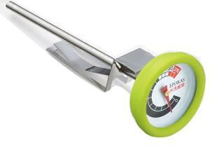 エポラス プチクック 揚げ物専用温度計 カバー付き グリーン PC-100G【smtb-s】