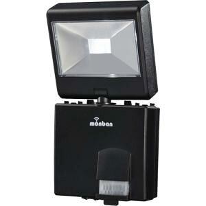 オーム電機 07-8281 LEDセンサーライト 乾電池式 1灯1W