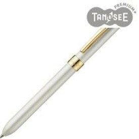 TANOSEE 多機能筆記具 3ファンクションスリムメタルf アイボリーホワイトパール(TS-N3FS-WG)【smtb-s】