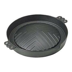 東伸販売 1223201 Y-11鉄ジンギスカン鍋深型29cm