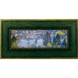 ユーパワー Klimt グスタフクリムト Gel加工アートフレーム マウンテンスロープ GK-07011【smtb-s】