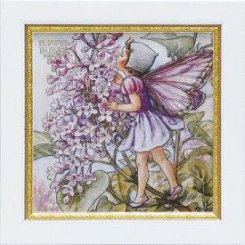 ユーパワー Flower Fairies フラワーフェアリーズ Gel加工 ミニアートフレーム ライラックフェアリー FF-02052【smtb-s】