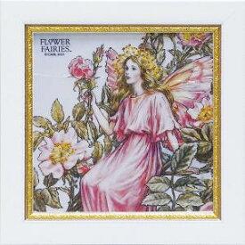 ユーパワー Flower Fairies フラワーフェアリーズ Gel加工 ミニアートフレーム ワイルドローズフェアリー FF-02054【smtb-s】