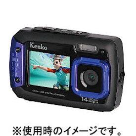 ケンコー Kenko 防水デュアルモニターデジタルカメラ DSC1480DW IPX8相当防水 1.5m耐落下衝撃 434758 13-3062【smtb-s】