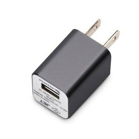 PGA USBアダプタAC充電器 1A ブラック PG-WAC10A01BK(PG-WAC10A01BK)【smtb-s】