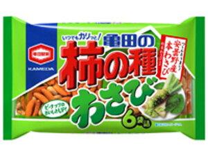 亀田製菓 亀田の柿の種わさび6P 182g【入数:12】【smtb-s】