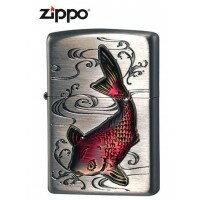 アドミラル産業 ZIPPO(ジッポー) ライター 鯉 63380198 (1054821)【smtb-s】