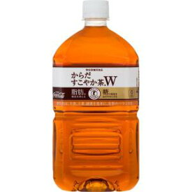 コカ・コーラカスタマーマーケティング 【ケース販売】からだすこやか茶W 1.05L×12本【smtb-s】