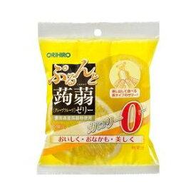 オリヒロ P蒟蒻ゼリーパウチ0カロリグレープフルーツ 6個【入数:24】【smtb-s】
