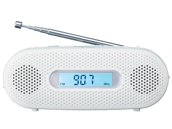 パナソニック FM-AM 2バンドレシーバー ホワイト RF-TJ20-W(RF-TJ20-W)