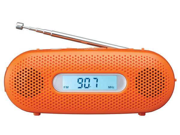 パナソニック FM-AM 2バンドレシーバー オレンジ RF-TJ20-D(RF-TJ20-D)