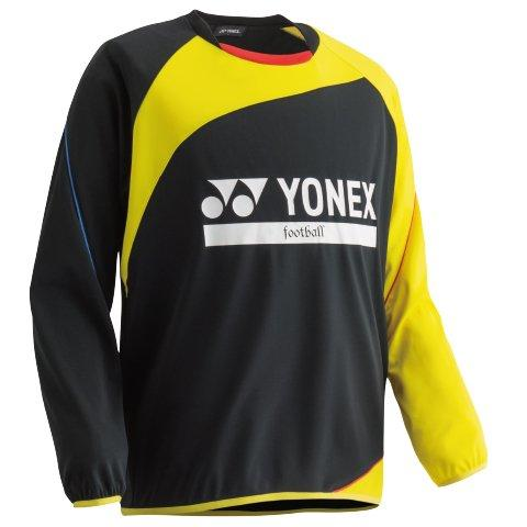 YONEX (FW5003J/400)ヨネックス ジュニアトレーニングトップ カラー:ブラック/イエロー サイズ:J140【smtb-s】