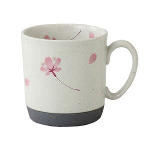 西海陶器 桜の舞 マグ(桃) 66419【smtb-s】