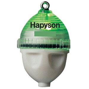 ハピソン(Hapyson) 山田電器 カン付 かっ飛び!ボールXS 緑 飛ばしウキ【smtb-s】