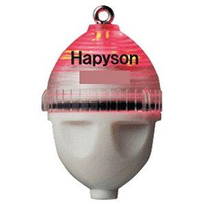 ハピソン(Hapyson) 山田電器 カン付 かっ飛び!ボールSS 赤 飛ばしウキ【smtb-s】