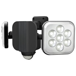 ムサシ(ライト)_N 8Wx2灯 フリーアーム式LEDセンサーライト LED-AC2016【smtb-s】