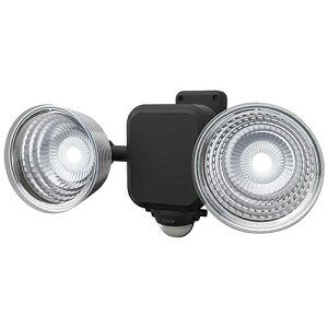 ムサシ(ライト)_N 3.5Wx2灯 フリーアーム式LED乾電池センサーライト LED-265