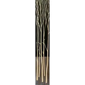 ユーパワー Wood Sculpture Art ハンドペイントウッドスカルプチャーアート ロングタイプ ツリー2 (BK+NP) SA-12061【smtb-s】