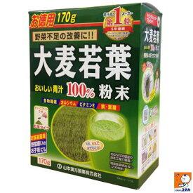 山本漢方製薬 大麦若葉 粉末100% 170g【smtb-s】