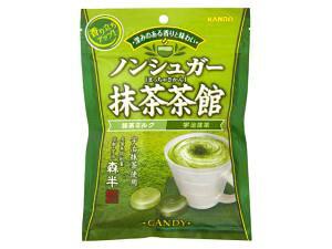 カンロ ノンシュガー抹茶茶館 72g 6入り【入数:6】【smtb-s】