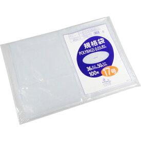 オルディ ポリバッグ 規格袋 17号 透明 100枚入 L03-17【smtb-s】