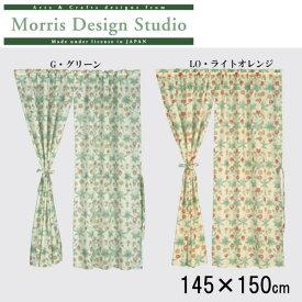 川島織物セルコン Morris Design Studio デイジーシアー スタイルのれん(防炎) 145×150cm EJ1718 LO・ライトオレンジ (1076712)【smtb-s】