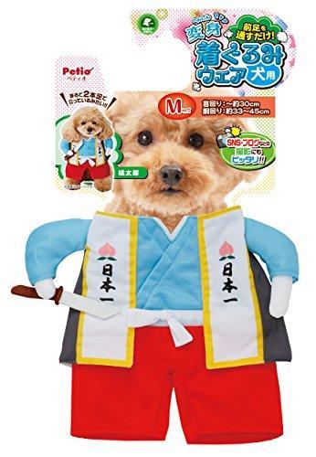 ペティオ (Petio) 犬用変身着ぐるみウェア 桃太郎 M (887899)【smtb-s】