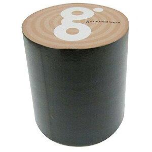 古藤工業 ガムテープ バッグキット 50mm×5m 黒 1巻(ガムテ50X5BK)