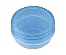 馬野化学容器 UG軟膏壺(UVカットクリアタイプ) 青クリア 6mL 3−51 100個NCNI0537208-1463-01【smtb-s】