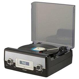 コイズミ SAD-9801-K マルチレコードプレーヤー(SAD-9801)【smtb-s】