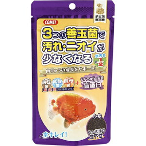 イトスイ コメット らんちゅうの主食 納豆菌配合 高蛋白 小粒 90g