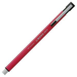 トンボ鉛筆 ホルダー消しゴムモノゼロメタル角ピンク(EH-KUMS81)