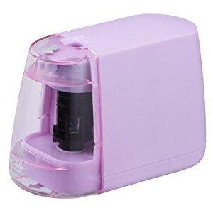 オーム電機 00-5156 乾電池式 電動えんぴつ削り(ピンク) JIM-E01-P