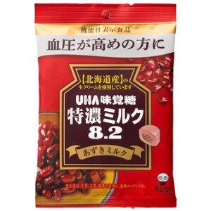 UHA味覚糖 特濃ミルク8.2あずきミルク 93g【入数:6】