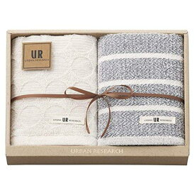 Gift Box アーバンリサーチ フェイスタオル2P ブルー UR2120【smtb-s】