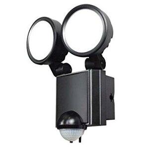 朝日電器 エルパ(ELPA) LED防雨センサーライト 2灯 ESL-SS802AC【smtb-s】