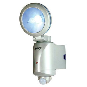 ムサシ ライテックス LED-130センサーライト 乾電池式 LED 3w 1灯