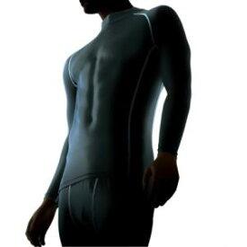 おたふく手袋 BODY TOUGHNESS パワーストレッチ ハイネックシャツ JW-170 ブラックL